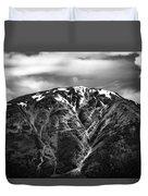 Alaska Mountain Range Duvet Cover