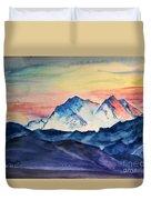 Alaska Mountain Duvet Cover
