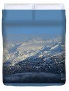 Alaska Mountain View Duvet Cover