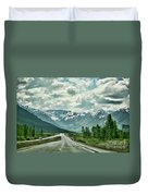 Alaska On The Road  Duvet Cover