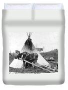 Alaska: Tepee, C1916 Duvet Cover