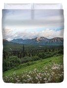 Alaskan Dandelions  Duvet Cover