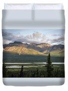 Alaskan Glacial Valley Duvet Cover