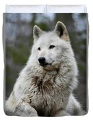Alawa The Wolf Rests Duvet Cover