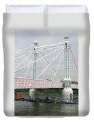 Albert Bridge Duvet Cover