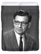 Albert Ghiorso, American Nuclear Chemist Duvet Cover