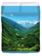 Alborz Green Duvet Cover