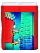 Albufeira New Town 1 Duvet Cover