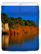 Albufera Blue. Valencia. Spain Duvet Cover