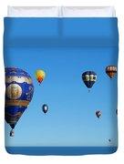 Albuquerque Balloon Festival 4 Duvet Cover