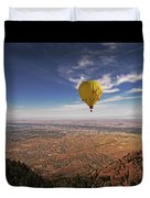 Albuquerque Flight Duvet Cover