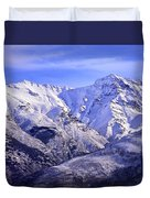 Alcazaba 3315 Meters And Vacares Duvet Cover