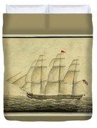 Alcono Sailing Vessel Duvet Cover