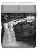 Aldeyjarfoss Waterfall Iceland 3353 Duvet Cover