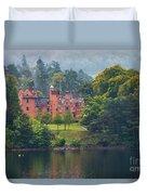 Aldourie Castle  Duvet Cover