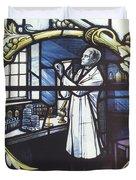 Alexander Fleming, Scottish Biologist Duvet Cover