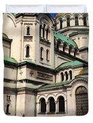 Alexander Nevsky Cathedral Duvet Cover
