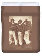 Alexander Rutherford, William Ramsay And John Linton Duvet Cover