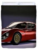 Alfa Romeo 33 Stradale 1967 Painting Duvet Cover