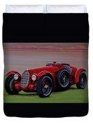 Alfa Romeo 8c 2900a Botticella Spider 1936 Painting Duvet Cover