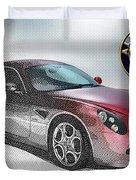 Alfa Romeo 8c Competizione  Duvet Cover