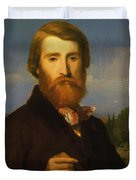 Alfred Bruyas Duvet Cover