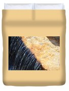 Alfred Caldwell Lily Pool Waterfall Duvet Cover