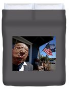 Alfred Hitchcock Duvet Cover