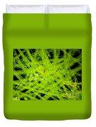 Algae Spirogyra Sp., Lm Duvet Cover