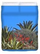 Algarve Plants Duvet Cover