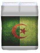 Algeria Distressed Flag Dehner Duvet Cover