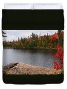 Algonquin Provincial Park Ontario Duvet Cover