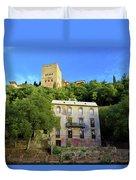 Alhambra Environs Duvet Cover