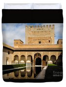 Alhambra Palace Granada Spain Duvet Cover