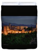 Alhambra Sunset Duvet Cover
