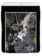 Alice And Friends 1 Duvet Cover