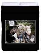 Alice And Friends 2 Duvet Cover