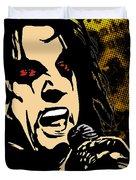 Alice Cooper Illustrated Duvet Cover