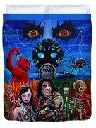 Alice Cooper Nightmare Duvet Cover