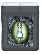 Alice In The Deadly Garden Duvet Cover