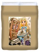 Alice In Wonderland 2 Duvet Cover by Lucia Stewart