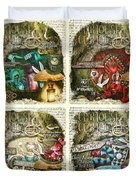 Alice Of Wonderland Series Duvet Cover