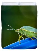 Alice The Stink Bug 2 Duvet Cover