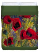 Alicias Poppies Duvet Cover