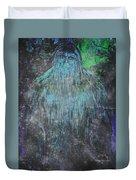 Alien Bigfoot Duvet Cover