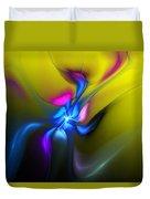 Alien Flower 2 Duvet Cover
