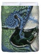 Alien Ocean Sigil Duvet Cover