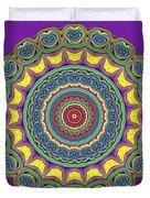 Alien Prayer Circle Duvet Cover