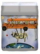 Alien Transport System Duvet Cover