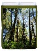 Alien Trees Duvet Cover